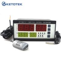 XM 18 Egg Incubator Controller Thermostat Hygrostat Full Automatic Microcomputer Control Temperature Humidity Sensor Probe