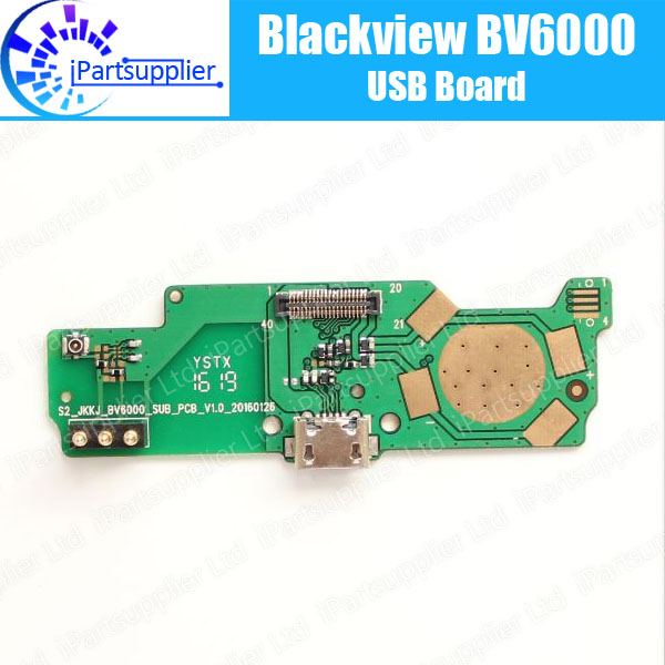 Blackview BV6000 usb board Replacement 100% Original New for usb plug charge board Accessories for Blackview BV6000