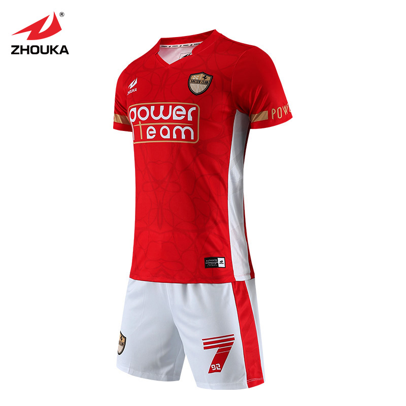 327ecb2da32a Aliexpress.com   Buy Wholesale new model original soccer tops football  training kit dry fit sports wear grade aaa thailand full set soccer jersey  from ...