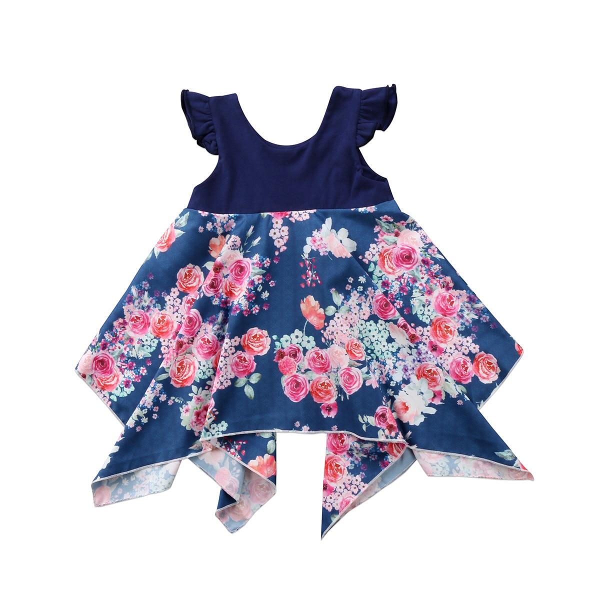 Princess, Girls, Infant, Sleeveless, Summer, Dress
