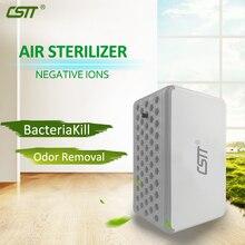 Крпт Портативный воздушный стерилизатор Nagative ион очиститель воздуха USB для домашнего офиса