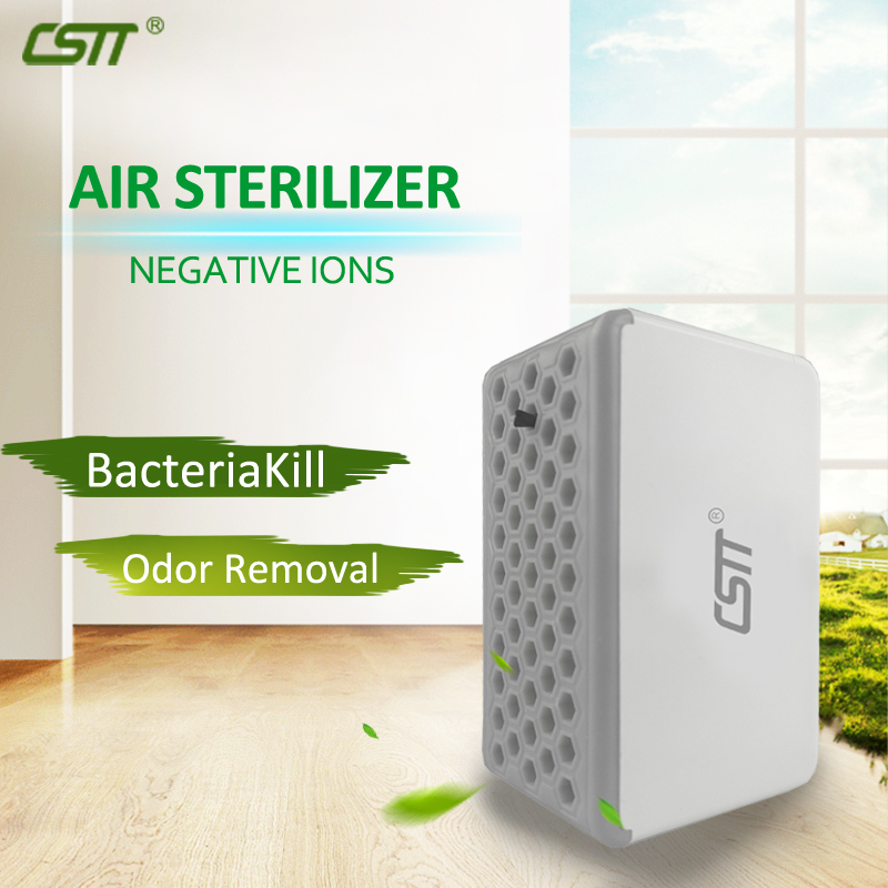 CSTT Portable Air Sterilizer Negative Ion USB Air Purifier for Household Office
