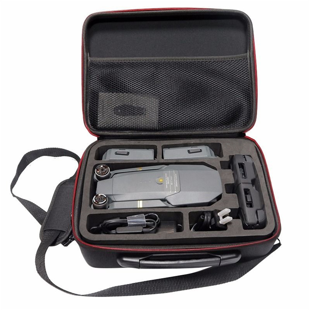 Drones Bag for DJI Mavic Pro EVA Hard Portable Bag Shoulder Carry Case Storage Bag Water-resistant Portable For DJI Mavic Case accessories for dji goggles bag cochanvie eva storage portable handheld case bag for dji fpv vr glasses goggles black
