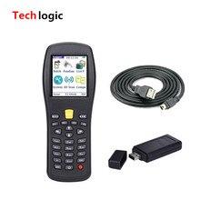 Techlogic X3 Wireless Barcode Scanner PDA Inventory Bar Code Scanner Portable Laser Barcode Gun with storage