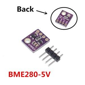 Image 5 - 10 قطعة BME280 3.3 فولت 5 فولت الرقمية الاستشعار درجة الحرارة الرطوبة الجوي وحدة استشعار الضغط I2C SPI 1.8 5 فولت BME280 وحدة الاستشعار
