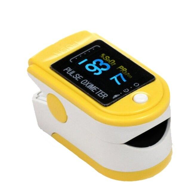 Fingertip pulse oximeter spo2 monitor pulse oximeter module 50D SPO2 and pulse rate fast delivery 2