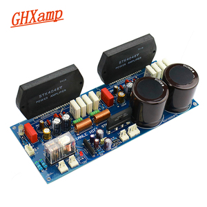 Image 1 - GHXAMP STK4046V Thick Film Amplifier Audio Board 120W*2 High Power 2.0 Audio Amplifiers PC1237 Speaker By Sanyo High Quality