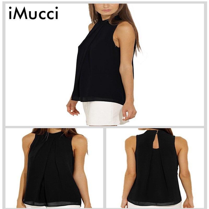 Imucci blusa de las mujeres 2017 tops de las mujeres más el tamaño s-xxxl camisa