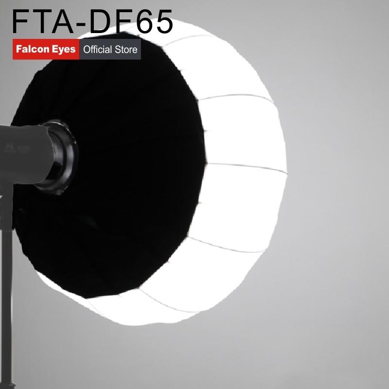 Falcon Olhos 65cm (2ft) lanterna dobrável Estilo Suave caixa Portátil Ao Ar Livre com Bowens Monte Para Led Estúdio Strobe Flash Light