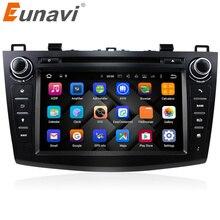 "Eunavi 8 ""Hd-bildschirm 2 din Android 7.1 Quad Core Auto DVD Player für 2010 2011 2012 2013 MAZDA 3 stereo radio GPS Navigation wifi"