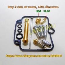 (1 set $ 18.5)Bandit 400 (GSF400) VC GK75A Mikuni carburetor repair kit Configuration Jet needle (J.N.) and Needle jet (N.J.) цена