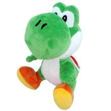 Super Mario Bros Зеленый Йоши Плюшевые 7 дюймов мягкие игрушки Дети Рождественские подарки Новые Горячие