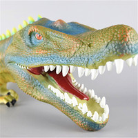 3 Style Dinosaur Head Action Figure Puppet Gloves Soft Vinyl Dinosaurs Head Figure Silica gel Fun Gifts For Kids Play House