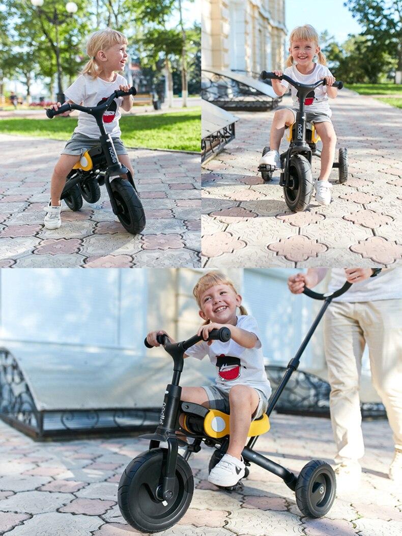 Passeio Em Brinquedos Do Bebê Triciclo Crianças Bicicleta Dobrável de Scooter Crianças