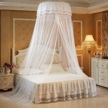 1pcs Elegant Lace Round Bedding Mosquito Net