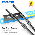 REFRESH Windscreen Wiper Blades for Ford Focus Mk2 / Mk3 Fit Side Pin / Push Button Arms ( International Model )