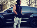 Brand hoodies crime the main project engineer Stringer Vest Men's Body Fitness sleeveless vest men VST