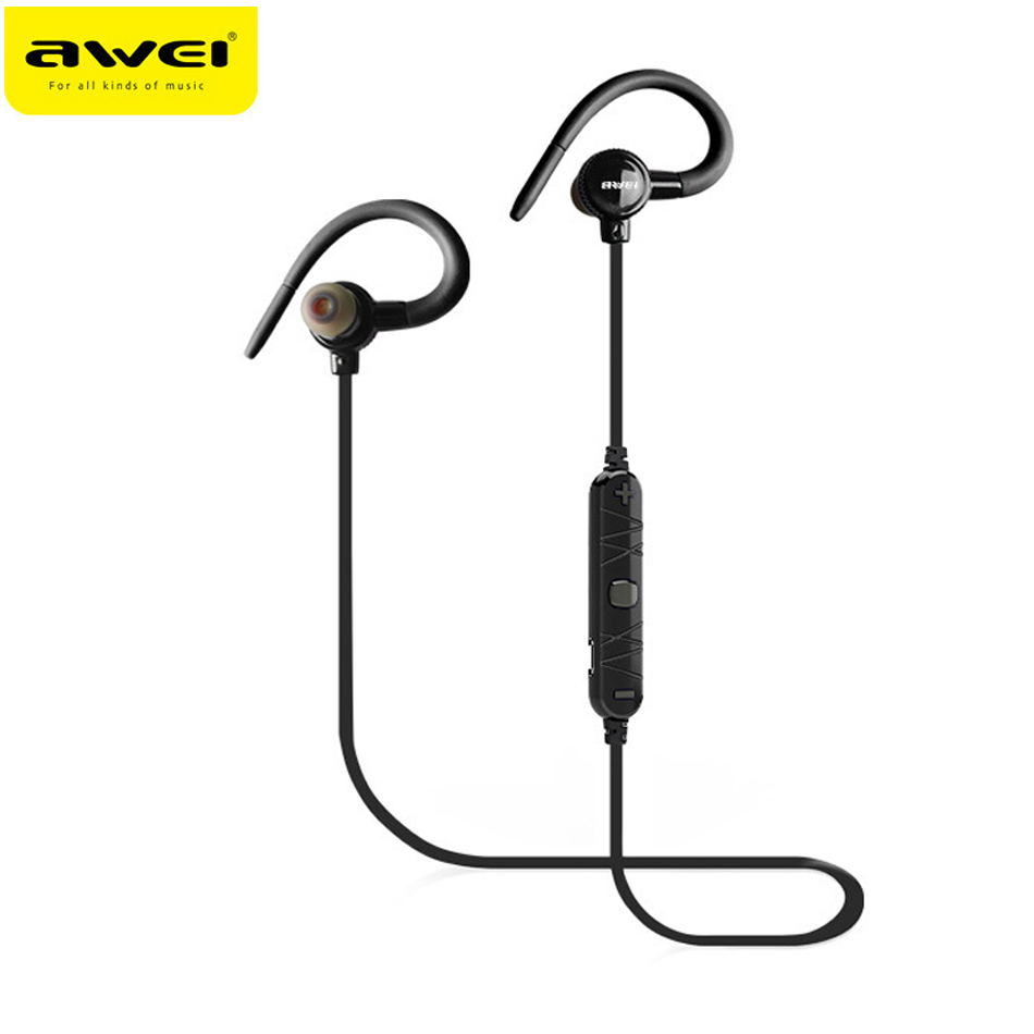 Original Awei A620BL Wireless Bluetooth Stereo Hifi Bass Earphone Noise Isolation Headphone With Mic Ecouteur fone de ouvido