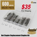 600 stapler staples plastic welder hot stapler welding staples for bumper plastic repairs ST-600