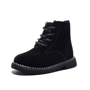 985295c76 2019 otoño zapatos de los niños zapatos para niñas botas Martin botas de  Niños de moda Zip de tobillo casuales de goma bebé botas Zapatos tamaño  21-30