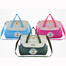 Multifunctional Baby Diaper Changing Shoulder Bag