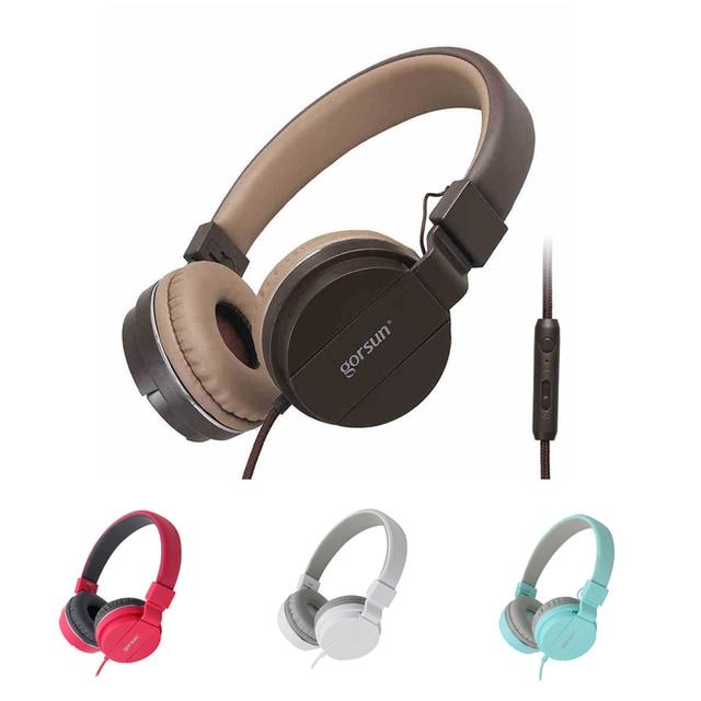 Marque Originale Gros Casque 35mm Bandeau écouteurs Avec Micro Pour