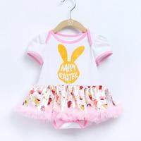 YK Loving Infant Dress Cotton Easter Summer Baby Tutu Dress Party Girl Clothing 100 Cotton Princess