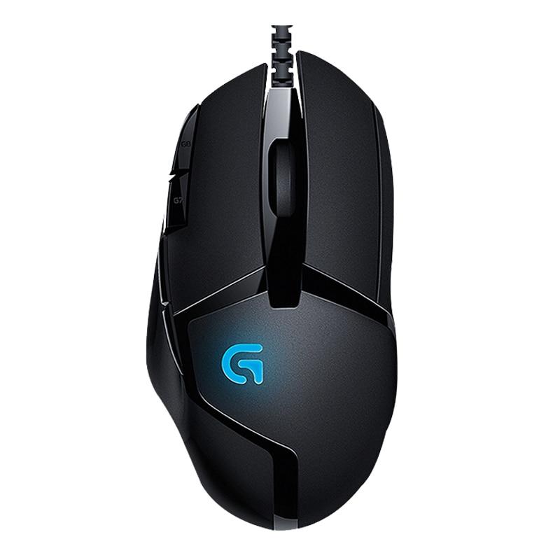 Logitech G402 Hyperion Fury FPS Gaming Mouse with High Speed Fusion Engine (910-004069) Указатель поворота