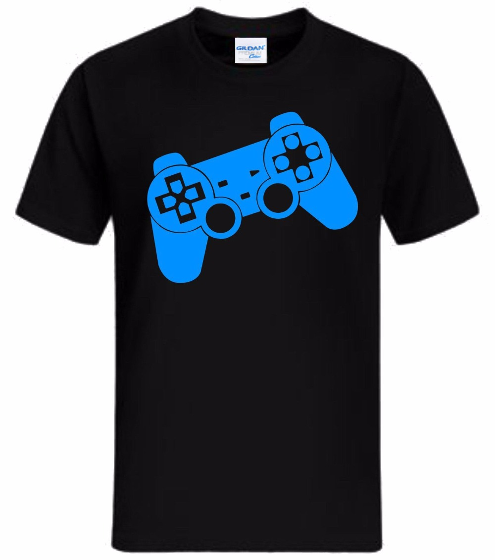 Huge natural game controller t shirt hot girl model