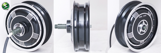 13inch single shaft integrated wheel