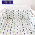 1 pcs INS amortecedor amortecedor berço infantil cama cama de bebê em torno da proteção da árvore Coelho casa estrelas projeto Minnie