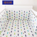 1pcs INS baby bed bumper crib bumper infant bed around protection Rabbit tree house stars Minnie design