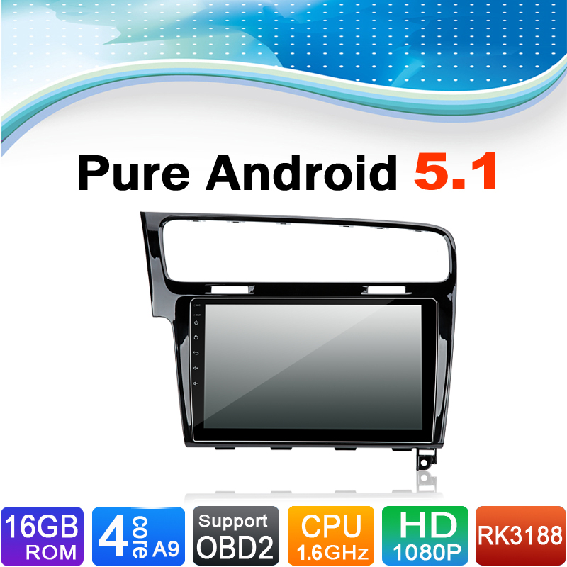 Pure Android 5 1 1 System Auto Radio Autoradio Car Media Player Stereo DVD for Volkswagen