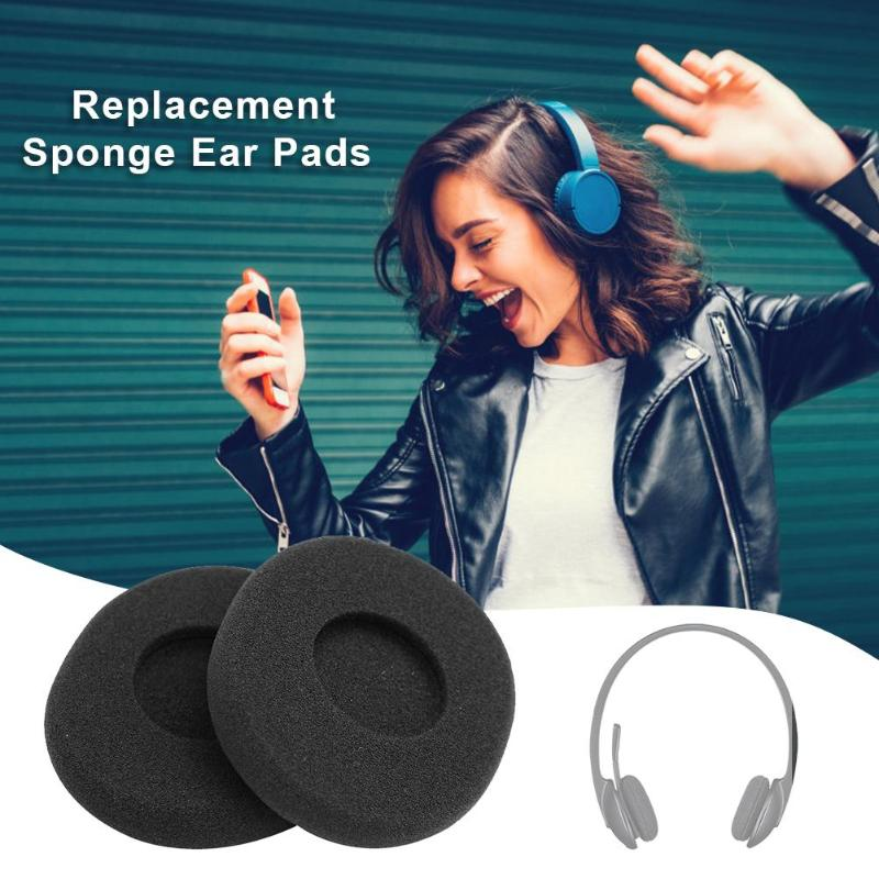 1 Pair Sponge Replacement Earpads For H800 Headphone Cushion Ear Pads For Logitech H800 Headset Accessories Cover Pads Earphone Accessories Aliexpress