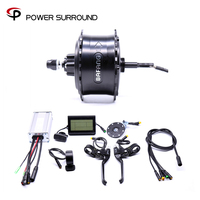 2019 Rushed Waterproof 48v750w Bafang FAT Rear Electric Bike Conversion Kit Brushless Motor Wheel with EBike system