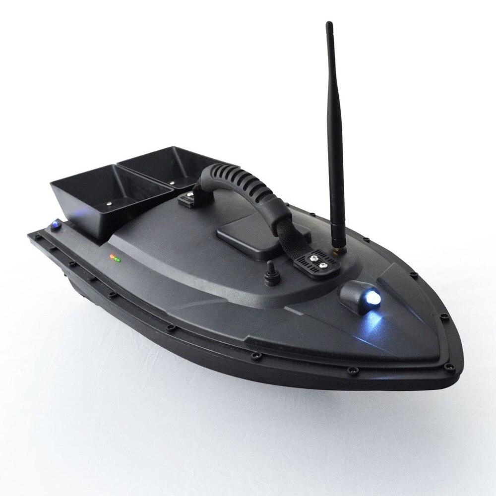 Smart Esche Da Pesca Barca 500 m Cercatore Dei Pesci di Controllo A Distanza della Barca 1.5 kg di Carico di Nave Barca del RC Motoscafo con Doppio motori Caldo