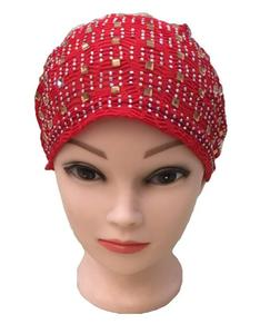 Image 3 - Rhinestone Under Scarf Child Flower Tube Bone Bonnet Inner Ninja Cap Muslim Wrap Beanies Skullies Islamic Chemo Cancer Hat New