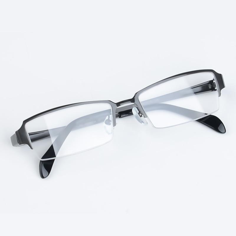 Xinze Titanium Myopie randlose Männer Brille Rahmen Business Spektakel Semi Brillen Presbyopie Heißer Mode Halb rr5PSq