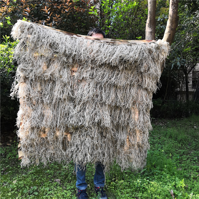 Hay grass style desert Bionic Ghillie Suits Hunting Blind Tent camouflage cover Use for hunting Recon