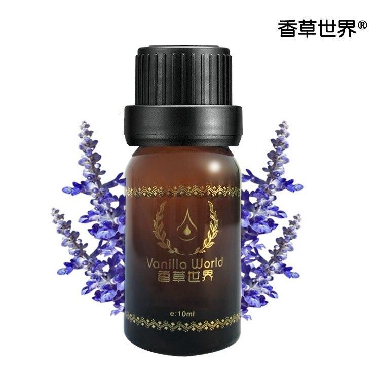 Vanilla World Lavender Essential Oil 10ml Remove Acne Fade Acne Marks Help Sleep Face Care Oil Deodorization