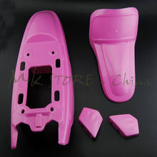 Pour Yamaha PW50 PY50 PW 50 Rose Plastique Fender Body Siège Réservoir Kit