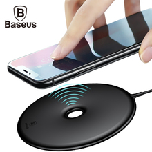 Baseus 10W Qi Wireless Charger Pad For iPhone X 8 Samsung Galaxy Note 8 S8 S7 Edge Mobile Phone Desktop Fast Wireless Charging