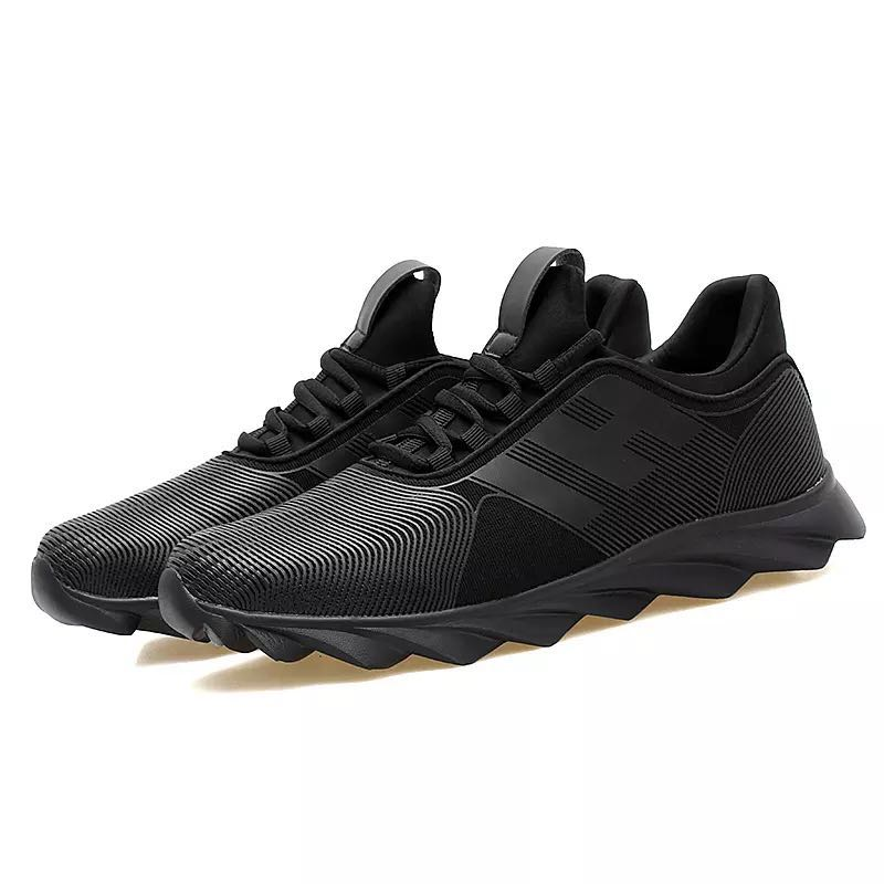 Running Shoes for Men Breathable Lightweight Black Sneakers Men's Running Shoes