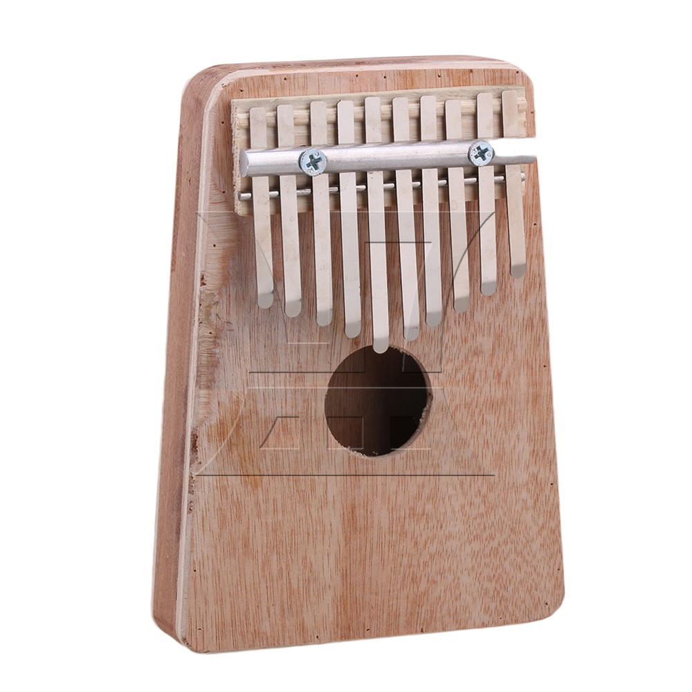 Yibuy 10 Keys Wooden Kalimba Mbira Thumb Piano Traditional font b Musical b font font b