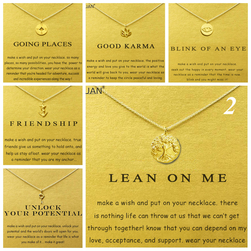 Gold Card Summary 2:The Tree Of Life Compass Anchor Key Choker Gold Statement Necklace Jewelry Chain Women Collares Colar Kolye Стёганое полотно