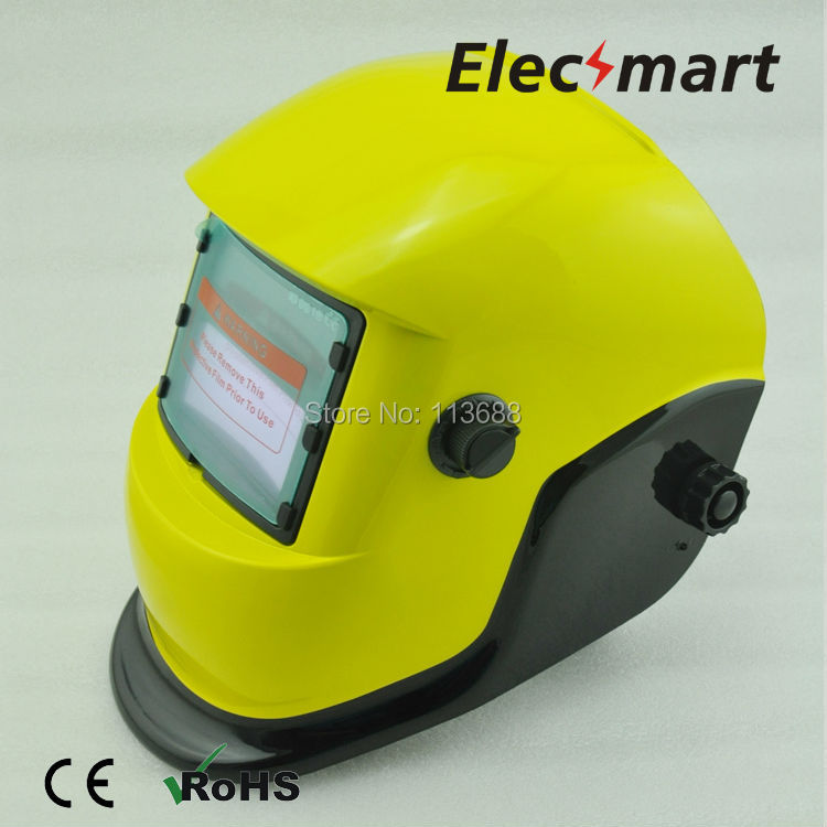 Minions Solar auto darkening TIG MIG MMA electric welding mask helmet welder cap lens for welding