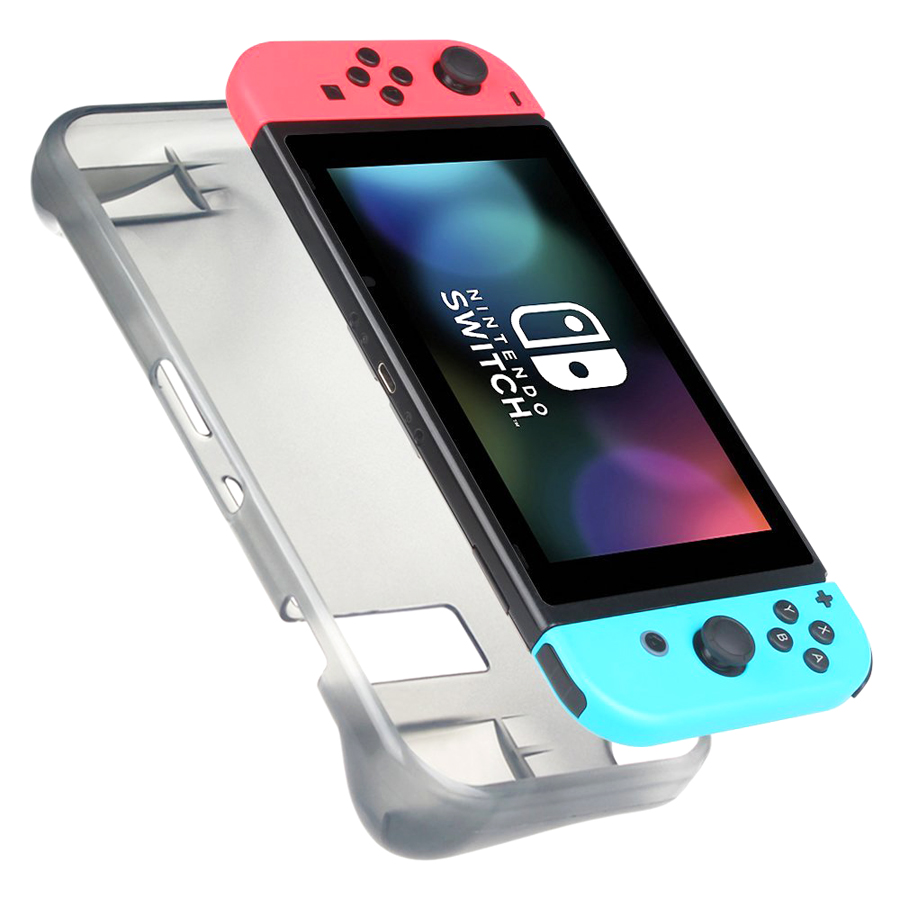 6 in 1 Kit Hard Case Storage Bag for Nintend Switch NS Console&Tempered Glass Screen Protector&TPU Protective Case&Analog caps  4