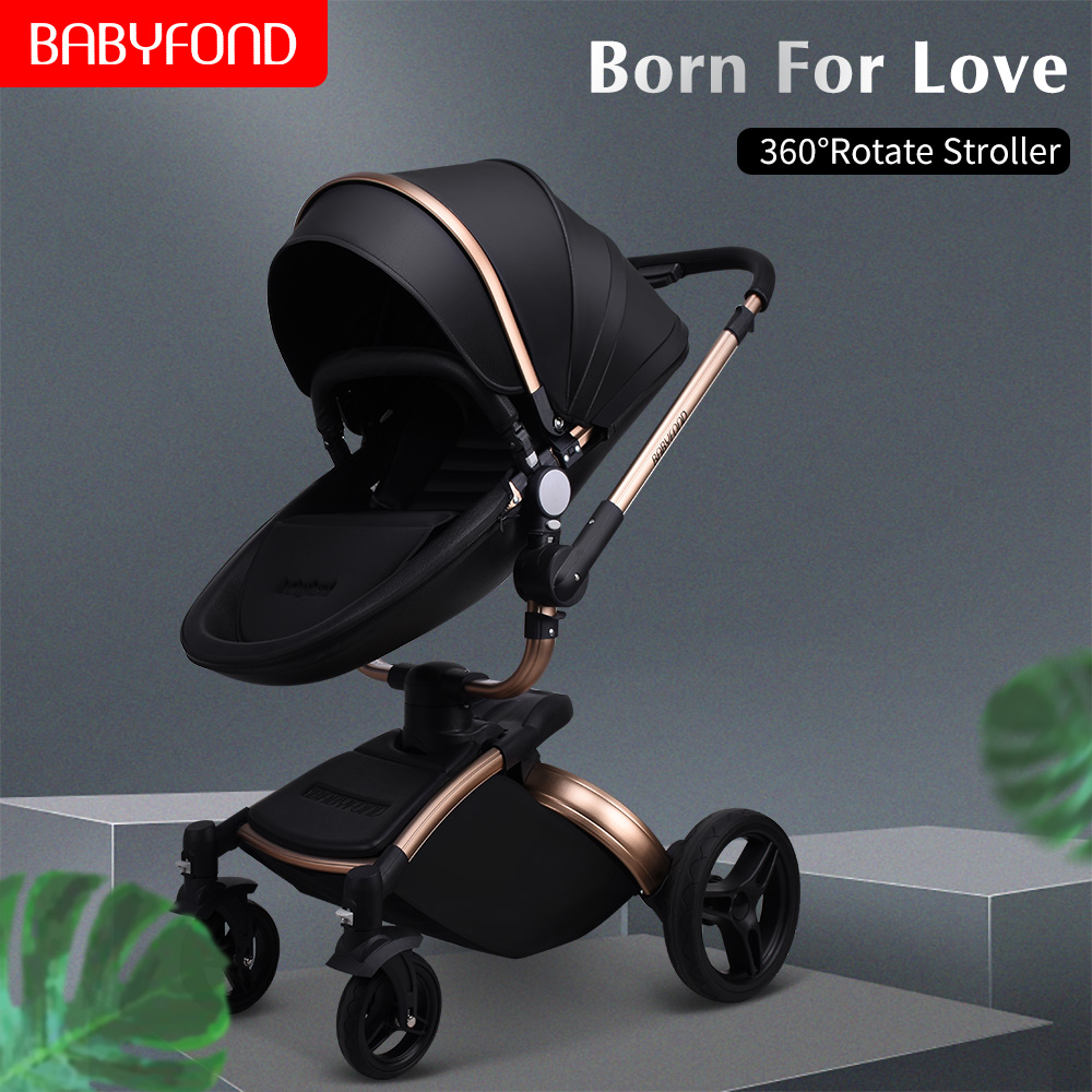 Baby stroller can sit reclining folding light high landscape baby stroller 0-6 months 3 years old baby stroller 360 degree seat Baby stroller can sit reclining folding light high landscape baby stroller 0-6 months 3 years old baby stroller 360 degree seat