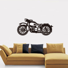 2695 europe and the united states burst skull dj creative personality living room bedroom tv background decorative wall Bedroom living room sofa background wall decoration wall paste motorcycle personality creative decoration PVC wall stickers