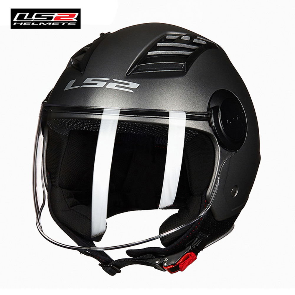 LS2 OF562 AIRFLOW L Jet Helmet Motorcycle 2018 New Style 3/4 Open Face Half Helmets Scooter Capacetes Light Weight